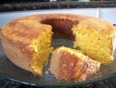 Passo a passo como fazer a receita Bolo de Fubá com Maisena e Creme de Leite (Rende 12 porções). Categoria: Bolos e tortas, Bolos, Leite