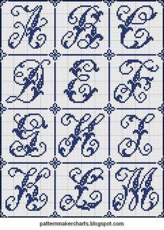 Free Easy Cross, Pattern Maker, PCStitch Charts + Free Historic Old Pattern Books: Sajou No 204