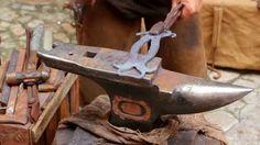 Blacksmith tools and anvil
