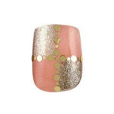 Orange and Glitter  Via: tip-top-nails.blogspot.pe