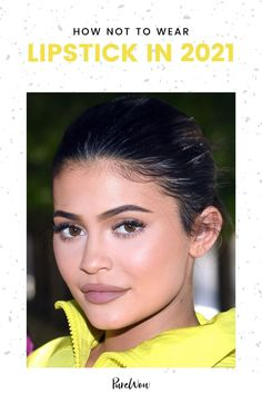Here are six fresh ways to wear lipstick in 2021 (and one look to leave in the past). #lipstick #beauty #makeup Natural Everyday Makeup, Natural Makeup Looks, Best Drugstore Lipstick, Date Night Makeup, Smokey Eye Tutorial, Brown Lipstick, 90s Hairstyles, Nude Lip, Glossy Lips