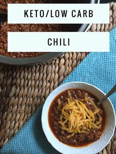 """TweetEmail TweetEmail Share the post """"Keto / Low Carb Chili"""" FacebookPinterestTwitterEmail Last night was the first Ohio State Football game of the season. My husband is originally from Ohio, so he is…MoreMore"""