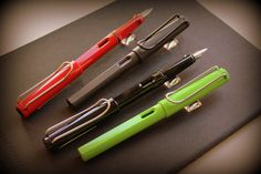 Lamy fountain pens #lamy #writing #pens #fountainpens
