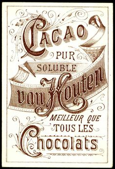 "https://flic.kr/p/98muw1 | Van Houten Tradecard - back | Van Houten Chocolate ~ back of the ""Two Children"" card"