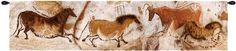 Lascaux Small European Wall Tapestry