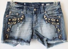 Adorable embellished shorts!