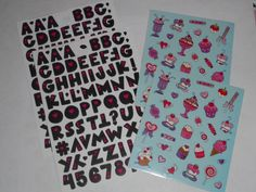Sweets n' ABC's  *STICKER PACK