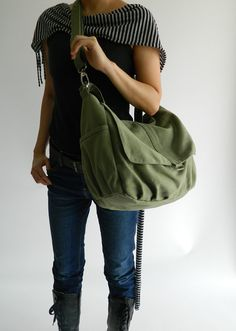 CHRISTMAS BIG SALE Now On - 25% off  // Daniel in Smoke Green // Messenger / tote / Diaper bag / Handbag / For Her / Women