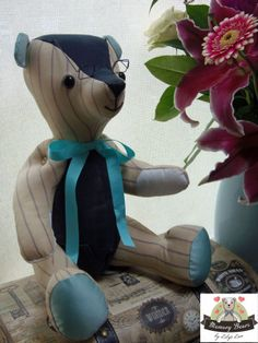 Lily's Love - Memory Bears - Memory bears hand made from cherished clothing.