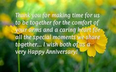 Wedding Anniversary Messages For Both Of Us