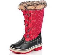 Fashionable winter footwear stops right here with these Aspen tall quilted boots from Storm by Cougar Footwear.