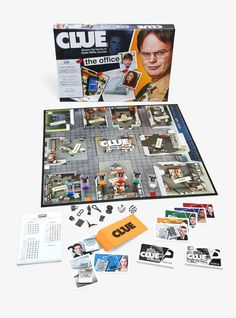 Clue: The Office Edition Board Game Hot Topic Exclusive, Clue Board Game, Fun Board Games, Board Game Storage, Style Indie, Style Grunge, Grunge Outfits, Soft Grunge, Operation Board Game, Best Boss Mug