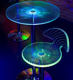 Not sure how this works for a dining table, but would look great in low light!