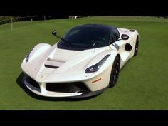Ferrari LaFerrari Ultra Exotic Hypercar Awesome color at Miami Beach Con...