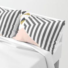 Pink&Gold Room #society6 #decor #buyart Pillow Sham