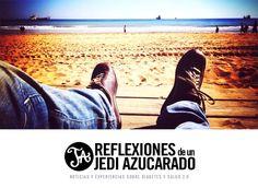 """""""Reflexiones de un Jedi Azucarado"""". Blog de Óscar López de Briñas donde comparte noticias y experiencias sobre diabetes y salud 2.0."""