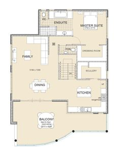 Nautica Upside Down Living Design Reverse Living Plan