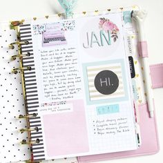AND I figured out how I'm going to set up my monthly dashboard. Quotes and monthly goals. Though I still don't know what to put in the pink space. Loving this @heidiswapp planner! #memoryplanner #plannerlove #plannernerd #planneraddict #heidiswapp #hsmemoryplanner