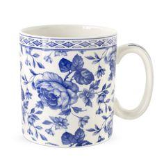 Blue Room Mugg, Chintz, Bouquet 250 ml, Spode