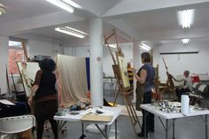 Lucy Parker's Oil Class at Lawrence #Art Studio