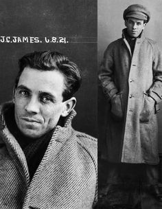 """From Peter Doyle's """"Crooks Like Us"""" a collection of early 20th C mugshot's from the Police and Justice archives"""