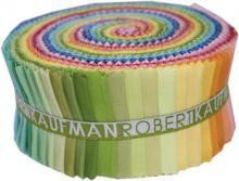 Kona Solids Rollups Brights Palette £22