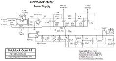 Oddblock Octal - Power Supply Schematic
