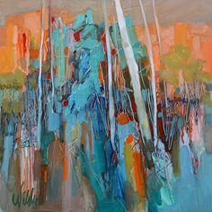 Last Light by Judy Wilder Dalton Oil ~ 12 x 12