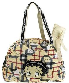 Betty Boop Quilted Handbag via Radiant K Boutique. Click on the image to see more!