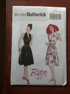 Butterick 5209 - retro dress