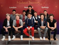 One Direction Return to Madame Tussauds London! Guys LIKE THIS PIC AND I WILL FOLLOW U I PROMISE!!!