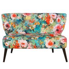 Skyline Furniture Midcentury Loveseat in Juliet Multi | Overstock.com Shopping - The Best Deals on Sofas & Loveseats