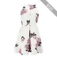 Cameo The Label Women's Nightswim Skater Dress - Ivory Bouquet