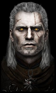 Geralt of Rivia (based on Henry Cavill) : witcher Fantasy Characters, Witcher Art, Game Art, The Witcher Books, Fantasy Art, Geralt Of Rivia, Art, Fan Art, Game Of Thrones Art