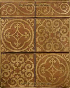 Pavé Tile, Wood & Stone, Inc. > European Terra Cotta Tile Flooring: The Carriage House Collection™