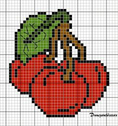 Fuse Beads, Perler Beads, Le Point, Bead Crafts, Cross Stitch, Fictional Characters, Crochet House, Cross Stitch Embroidery, Round Shag Rug