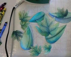 How to Color Fabric With Crayons