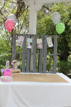 "Photo 1 of 42: Vintage Girly Western Petting Zoo / Birthday ""Ruby's 1st Birthday.. Petting Zoo Theme"" 