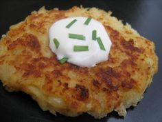 parsnip pancakes from albioncooks.blogspot. I like parsnips and these look delicious.