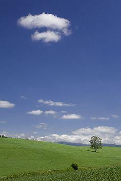 sky and earth, hokkaido
