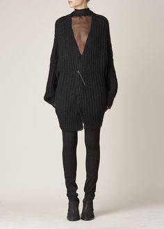 Ann Demeulemeester Nina Knit (Black/Black)