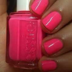 Essie - Pink Parka, perfect summer pedicure color!