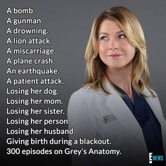 Grays disasters ranking by how devastating they were- Ranking Greys Katastrophen nach wie verheerend sie waren Grey& disasters ranking by how devastating they were - Greys Anatomy Frases, Greys Anatomy Funny, Grey Anatomy Quotes, Greys Anatomy Workout, Anatomy Humor, Greys Anatomy Cast, Greys Anatomy Episodes, Cristina Yang, Youre My Person
