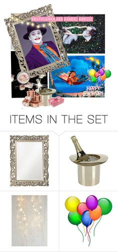"""""""Happy birthday, my friend!"""" by eventyrdamen ❤ liked on Polyvore featuring art"""