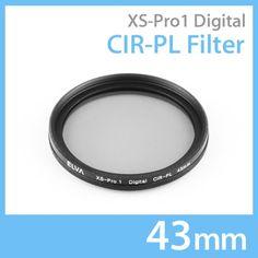 New Elva Camera Digital CIR-PL 43mm Filter Circular Polarizing Slim Filter #Elva