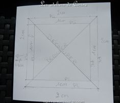 Après plusieurs demandes pour obtenir le tutoriel de ma carte cadre, je partage avec vous le t uroriel de la base de cette carte: Découper un morceau de carton de 14 x 29,2 cm : Faire un pli à chaque extrémité à 14 cm : Dessiner un carré sur un côté de...
