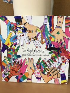High Five, School, Winter, Art, Pictures, Kunst, Give Me 5, Winter Time, Art Background