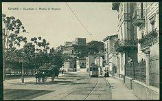 cV815 VERONA Quartiere S. Maria in Organo, bella animazione con tram, FP, non vi
