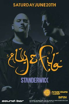 Standerwick just added to the Aly & Fila Trancemission show at Sound-Bar!