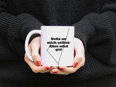 Becher & Tassen - Kaffee Tee Tasse Becher - ein Designerstück von MADTDesign bei DaWanda